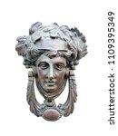 Vintage Brass Door Knocker In...