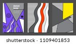 abstract geometric backgrounds... | Shutterstock .eps vector #1109401853