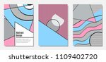placard templates set with... | Shutterstock .eps vector #1109402720