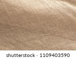 texture brown canvas fabric as... | Shutterstock . vector #1109403590