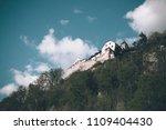 vaduz  liechtenstein   april 20 ... | Shutterstock . vector #1109404430