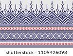 geometric ethnic pattern... | Shutterstock .eps vector #1109426093