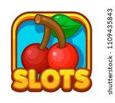 slot game illustration. casino...
