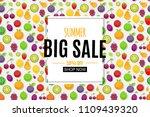 abstract summer sale background ... | Shutterstock . vector #1109439320