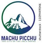 machu picchu peru   Shutterstock .eps vector #1109449046