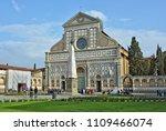tourists look at santa maria...   Shutterstock . vector #1109466074