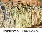 clothing for hunting and...   Shutterstock . vector #1109466923