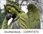 Sculpture Of Angel At A Prague...