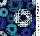 polka dot seamless pattern.... | Shutterstock .eps vector #1109473910