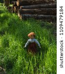 Beautiful Vintage Doll With Re...