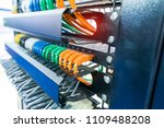 ethernet cable on network... | Shutterstock . vector #1109488208