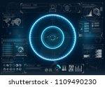 modern radar  great design for... | Shutterstock .eps vector #1109490230