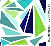 geometric seamless pattern of... | Shutterstock .eps vector #1109491169