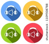 headphones and volume level....