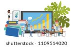 business people character... | Shutterstock .eps vector #1109514020