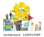 business people character... | Shutterstock .eps vector #1109515589