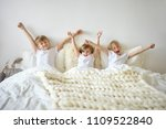 bedtime  bedding  sleep  family ... | Shutterstock . vector #1109522840