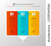 infographic design template.... | Shutterstock .eps vector #1109544566