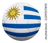 realistic isolated 3d soccer... | Shutterstock .eps vector #1109547893