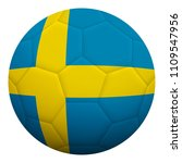 realistic isolated 3d soccer...   Shutterstock .eps vector #1109547956
