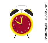 clock time object vector. alarm ...   Shutterstock .eps vector #1109559704