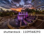 the woodlands fountain | Shutterstock . vector #1109568293