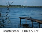 old neglected pier and it's... | Shutterstock . vector #1109577779