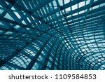 curvilinear grid structures.... | Shutterstock . vector #1109584853