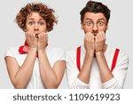 portrait of nervous family...   Shutterstock . vector #1109619923