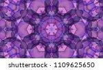 geometric design  mosaic of a... | Shutterstock .eps vector #1109625650