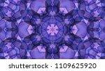 geometric design  mosaic of a... | Shutterstock .eps vector #1109625920