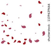 abstract flower petals confetti ... | Shutterstock .eps vector #1109639666