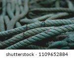 fishing nets detail  | Shutterstock . vector #1109652884