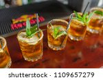 soft drinks at the wedding | Shutterstock . vector #1109657279