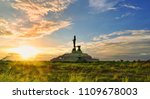 buddhism in the east | Shutterstock . vector #1109678003