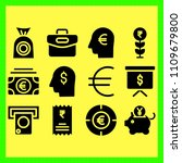 business icons set of security  ... | Shutterstock .eps vector #1109679800