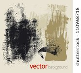 set of vector grunge elements | Shutterstock .eps vector #110968718