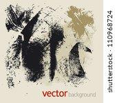 set of vector grunge elements | Shutterstock .eps vector #110968724