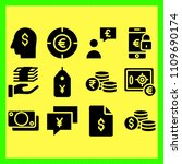 business icons set of... | Shutterstock .eps vector #1109690174