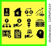 business icons set of set ... | Shutterstock .eps vector #1109691614