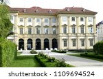 vienna  austria   june 9  2018  ... | Shutterstock . vector #1109694524