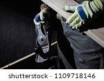 photo of a carpenter worker... | Shutterstock . vector #1109718146