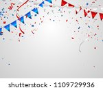 celebration background template ... | Shutterstock .eps vector #1109729936