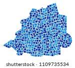 vatican map composition of... | Shutterstock .eps vector #1109735534