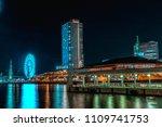kobe  japan   nov 25  2017  ... | Shutterstock . vector #1109741753
