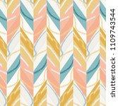herringbone wallpaper. abstract ... | Shutterstock .eps vector #1109743544