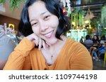 selfie asian woman  self...   Shutterstock . vector #1109744198