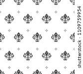 seamless vector pattern. modern ... | Shutterstock .eps vector #1109759954