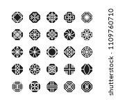 octagon geometric vector icon   ...   Shutterstock .eps vector #1109760710
