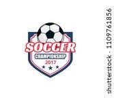soccer championship 2017 match... | Shutterstock .eps vector #1109761856